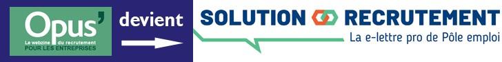 Opus devient Solution recrutement